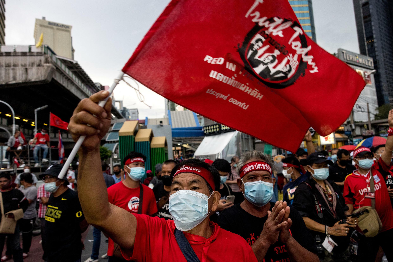 thailande bangkok manifestation