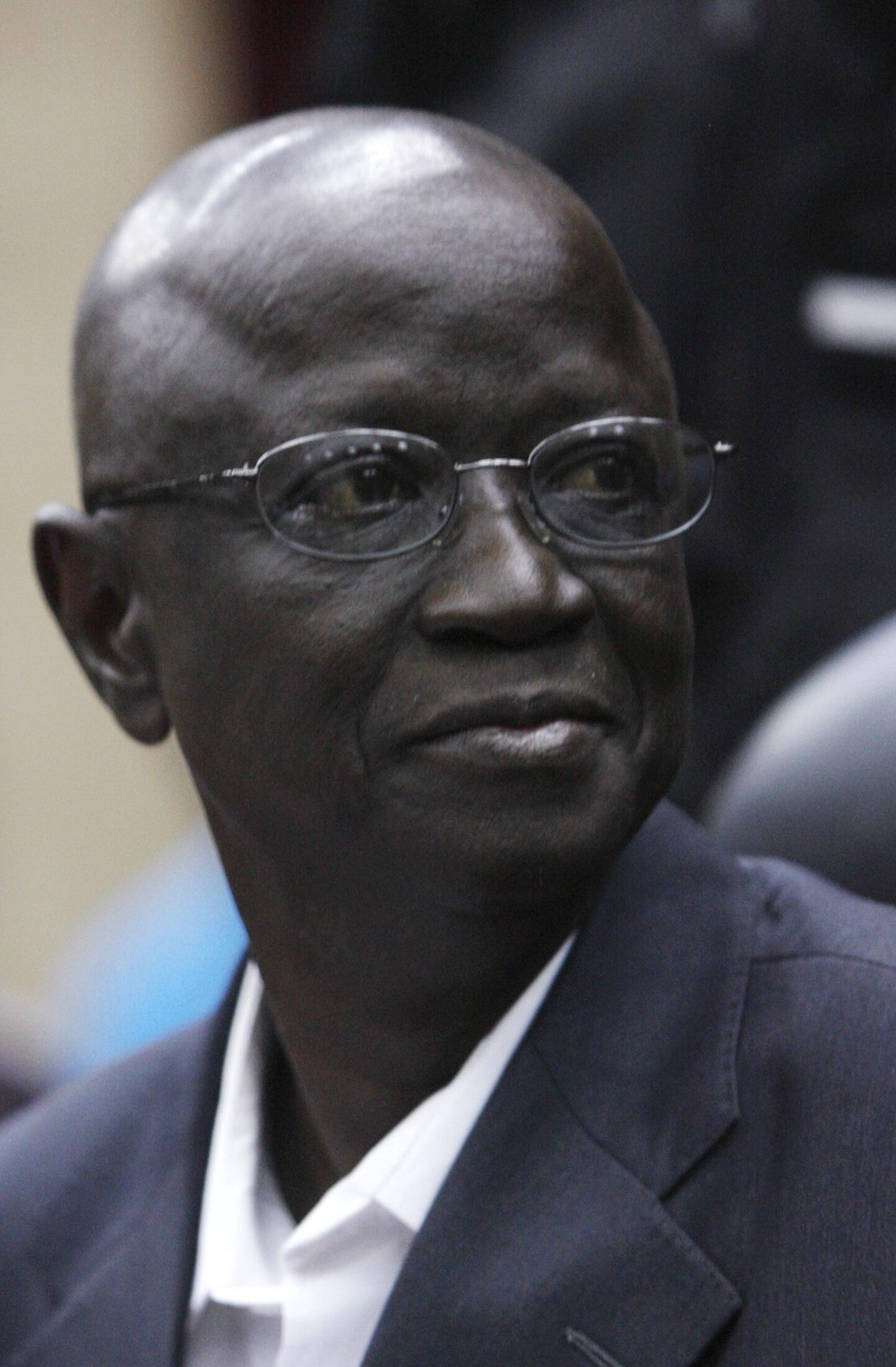Ben Sekou Sylla, president of Guinea's electoral commission, 3 July