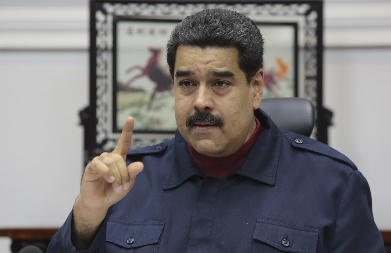 Imagen de archivo del presidente de Venezuela, Nicolás Maduro.