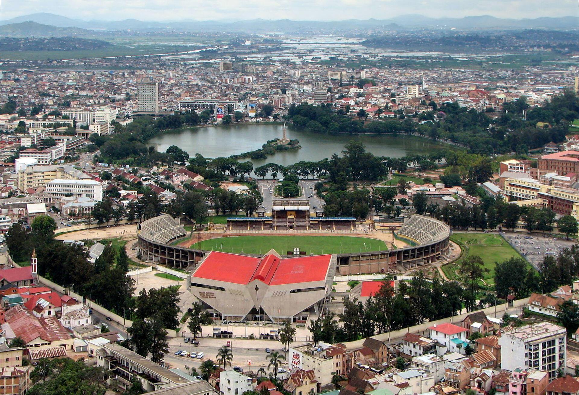 Antananarivo, la capitale économique et politique de Madagascar.