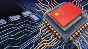 圖為中國半導體及網絡科技圖片
