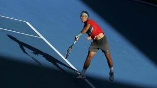 O tenista espanhol Rafael Nadal, número um mundial