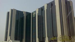 Siège de la Banque centrale du Nigeria, à Abuja.