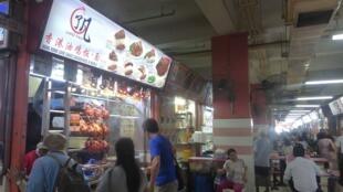 Hong Kong Soya Sauye Chicken Rice and Noodle est un restaurant de rue étoilé à Singapour.