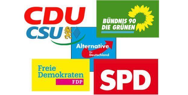 لوگو احزاب سیاسی در آلمان