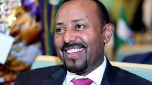 Ethiopia's Prime Minister, Abiy Ahmed, winner of the 2019 Nobel Peace Prize.