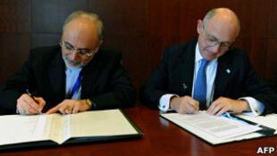 توافق نامه میان ایران و آرژانتین را وزرای خارجه هردو کشور در اتیوپی امضا کردند