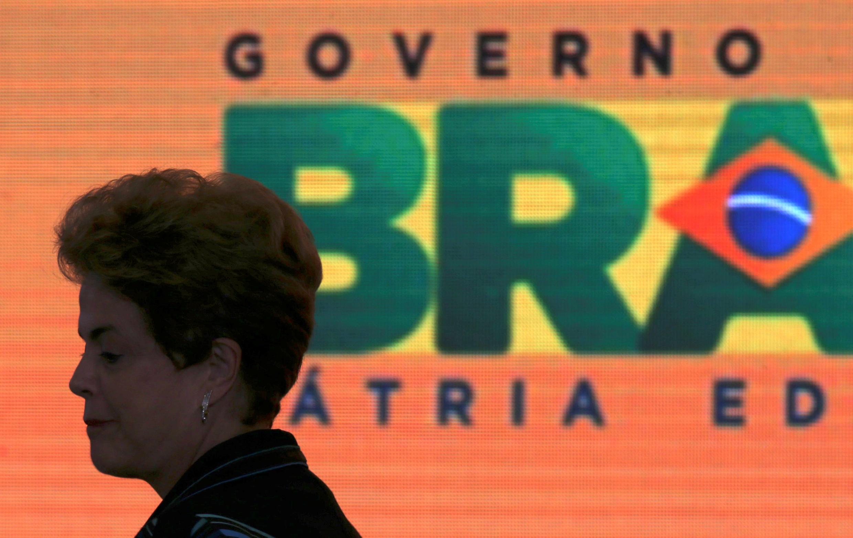 La présidente brésilienne Dilma Rousseff, le 3 mai 2016 à Brasilia.
