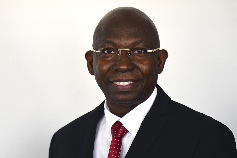 Issa Sall, candidat à la présidentielle.