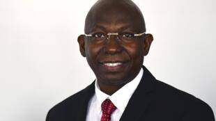 Issa Sall, candidat à la présidentielle au Sénégal.