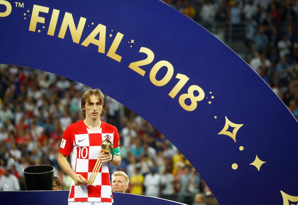 Le Croate Luka Modric a été élu meilleur joueur de la Coupe du monde 2018.