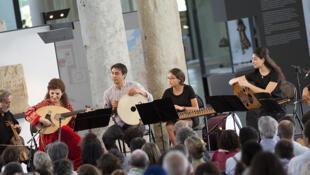 Orpheus XXI en concert à Arles, le 14 Juillet 2017.