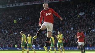 Wayne Rooney na Manchester United