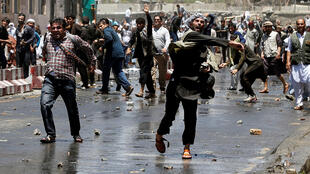 Акция протеста в Кабуле, 2 июня 2017.