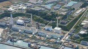 Fukushima tiếp tục là tâm điểm của chính trường Nhật. Trong ảnh, nhà máy Fukushima-Daiichi chụp từ trên không, 31/08/2013.