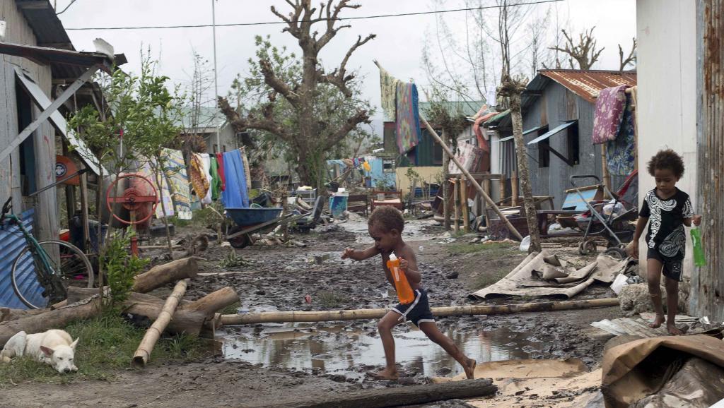 Mahaukaciyar iska tayi ta'adi a Vanuatu