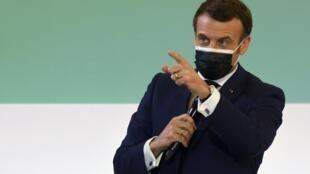 Rais wa Ufaransa  Emmanuel Macron
