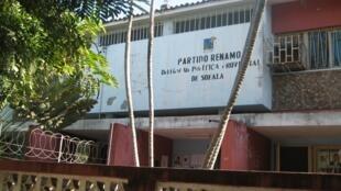 Sede da Renamo em Sofala, centro de Moçambique