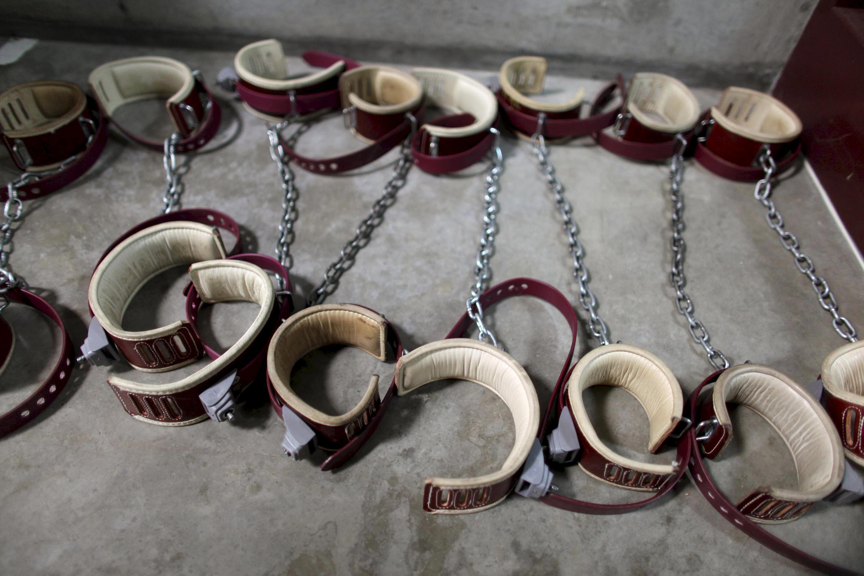 Foto sacada en el interior de Guantánamo, el 21 de enero de 2009.