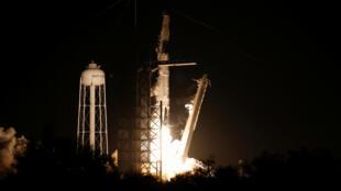 Запуск корабля Crew Dragon компании SpaceX состоялся 2 марта 2019 года в 2:49 утра с мыса Канаверал во Флориде.