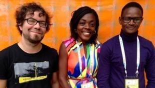 سه نویسندۀ فرانسوی زبان شرکت کننده در رقابتهای فرانسه زبانی سال 2017