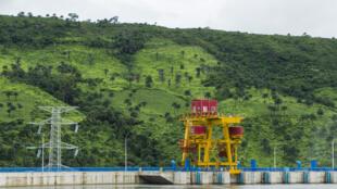 Le barrage de Kaléta, en Guinée.