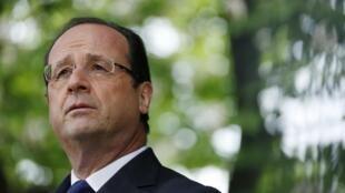 Tổng thống Pháp F. Hollande sang Bruxelles, thảo luận với châu Âu về kế hoạch cải tổ cơ cấu kinh tế (REUTERS /G. Fuentes)