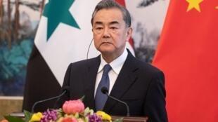 中国国务委员、外交部长王毅