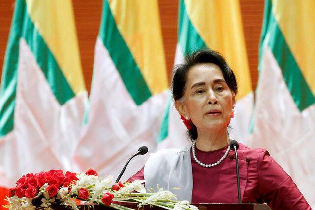 A líder birmanesa Aung San Suu Kyi fez um discurso a favor do retorno dos rohingyas