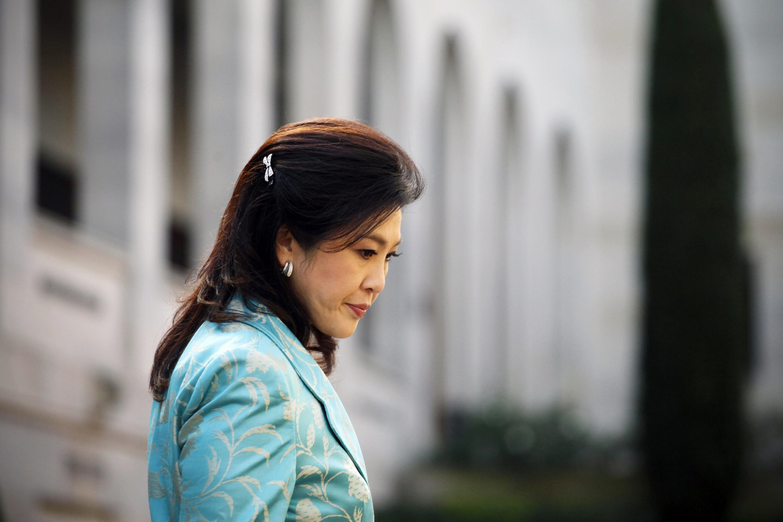Yingluck Shinawatra, destituida este miércoles 7 de mayo de 2014.