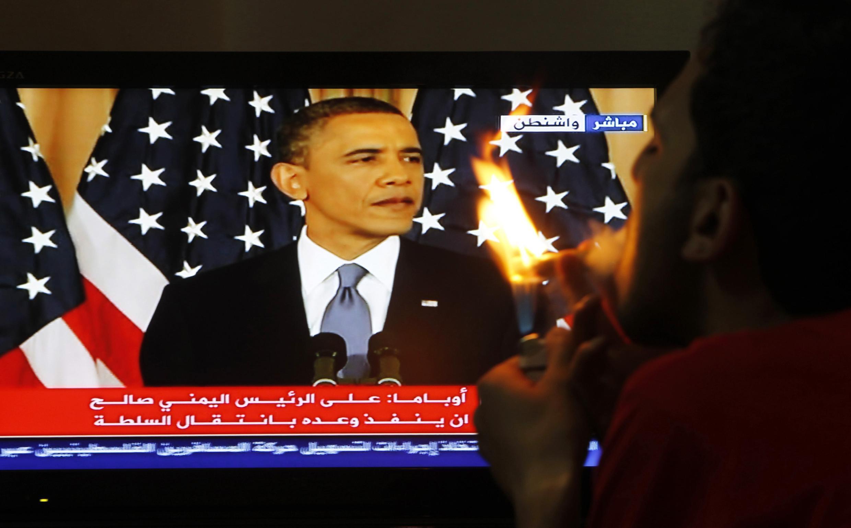 Diễn văn về Trung Cận Đông của tổng thống Obama truyền lại trên đài truyền hình Jordani, ngày 19/05/2011