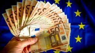 歐元紙幣假鈔數量激增引發歐洲央行的憂慮