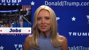 """美国CNN前评论员凯利-麦肯内尼现身主持""""真新闻"""""""