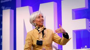 圖為國際貨幣基金組織總幹事法國人拉加德
