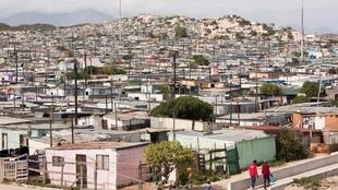 Vue du township de Khayelitsha..