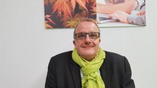 Pascal Vanhee, administrateur de la société belge Agriosmoz basée à Charleroi, en Belgique.