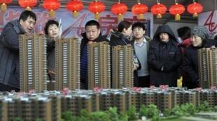 中国房价上涨遏而不止