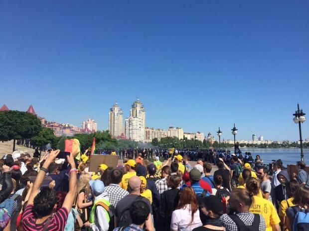 Марш равенства в Киеве, 6 июня 2015 год