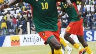 Le Camerounais Achille Emana.
