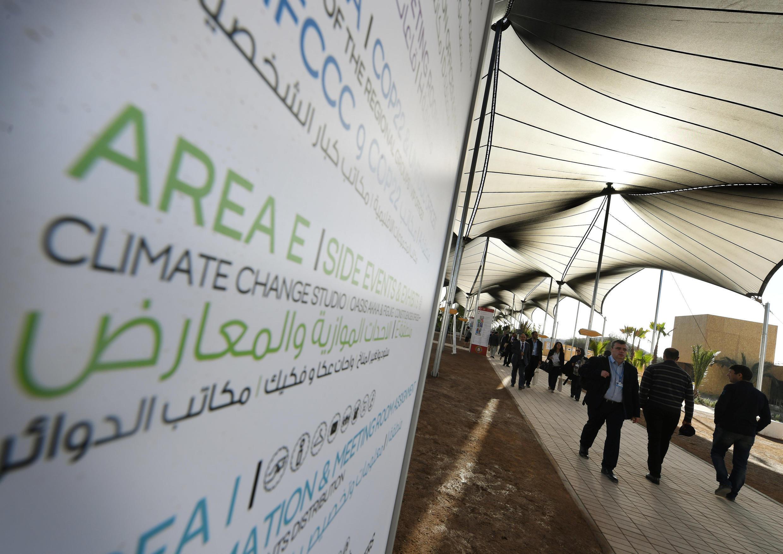 Arrivée des délégations à la COP22, à Marrakech, au Maroc,le 16 novembre 2016.