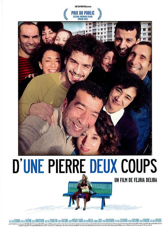 Affiche du film de Fejria Deliba, «D'une pierre deux coups», 2016.