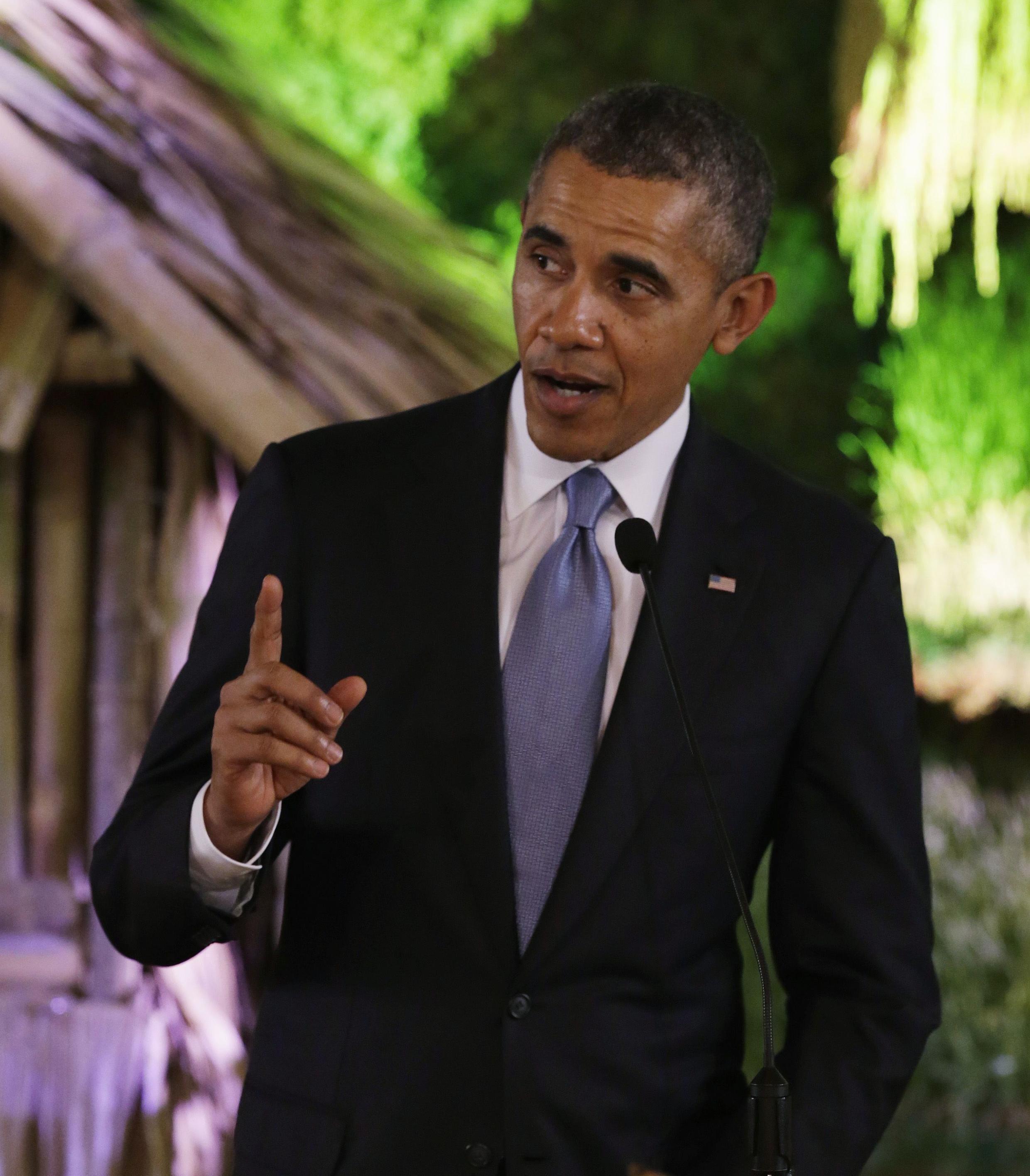 """O presidente dos Estados Unidos, Barack Obama, anunciou que as novas sanções contra a Rússia são devido aos """"atos de provocação"""" na Ucrânia."""