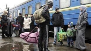 Крымскотатарские беженцы в Запорожье