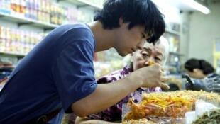 L'acteur Takumi Saitoh dans la «La saveur des ramen».