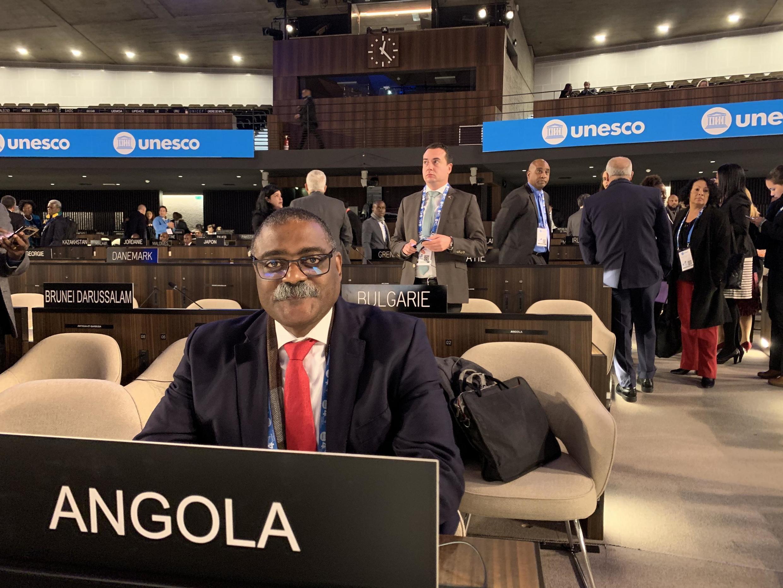 Domingos Vieira Lopes, secretário de Estado angolano das Relações Exteriores.