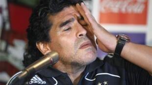 Diego Maradona (image d'archives).