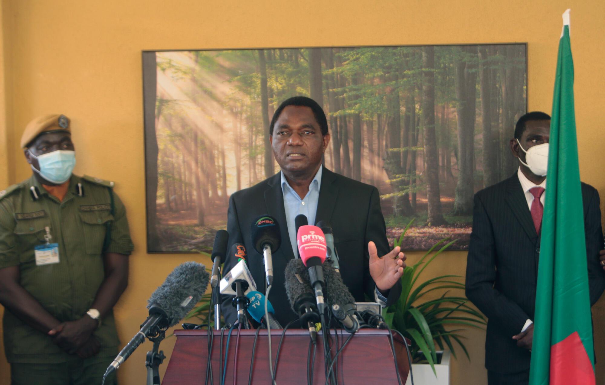 Zambie - Hakainde Hichilema - président