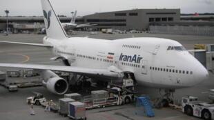 یک هواپیمای شرکت ایران ایر