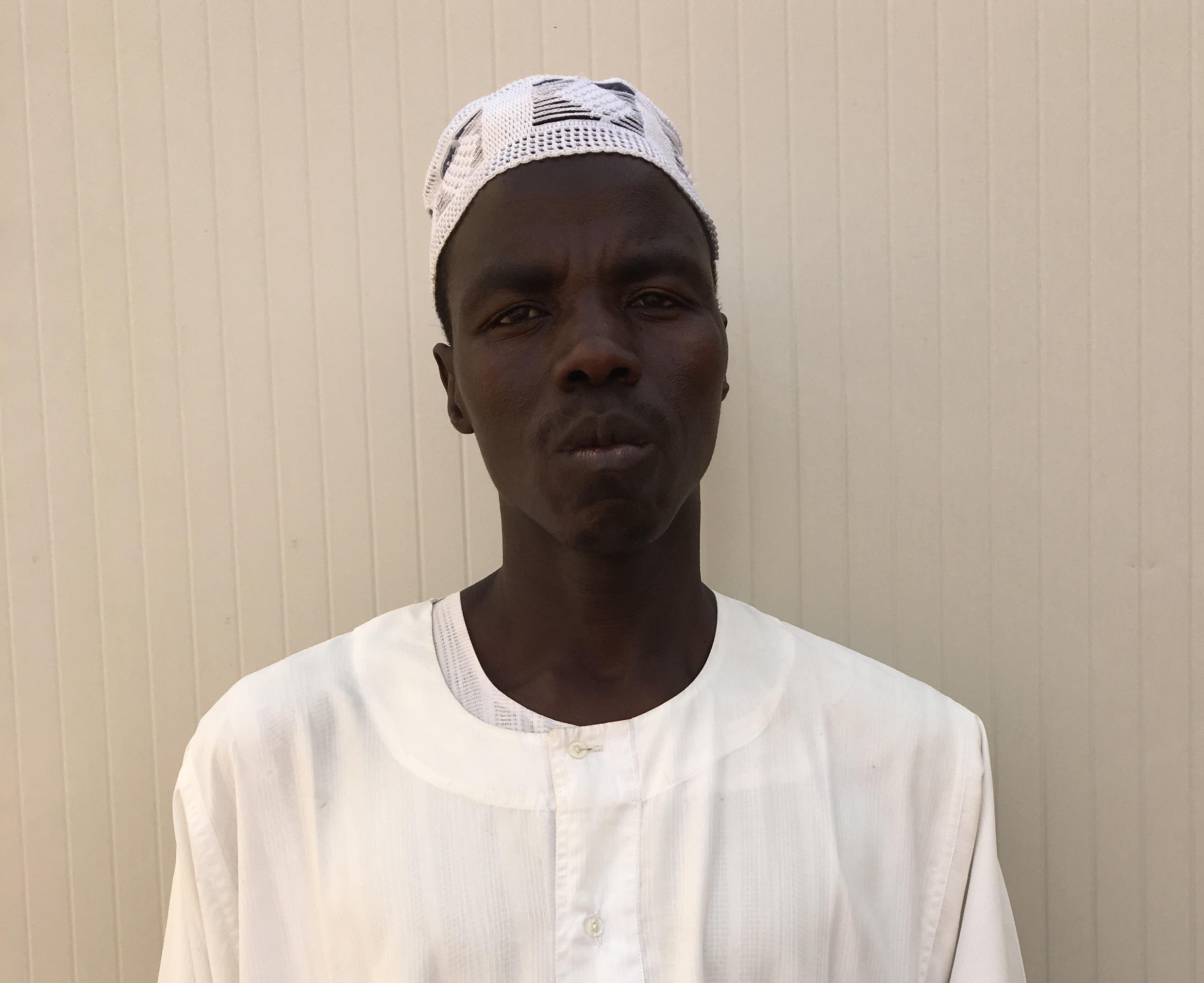 Mohamed Ahmed Ibrahim, Darfuri refugee and former slave in the gold mines in northern Chad