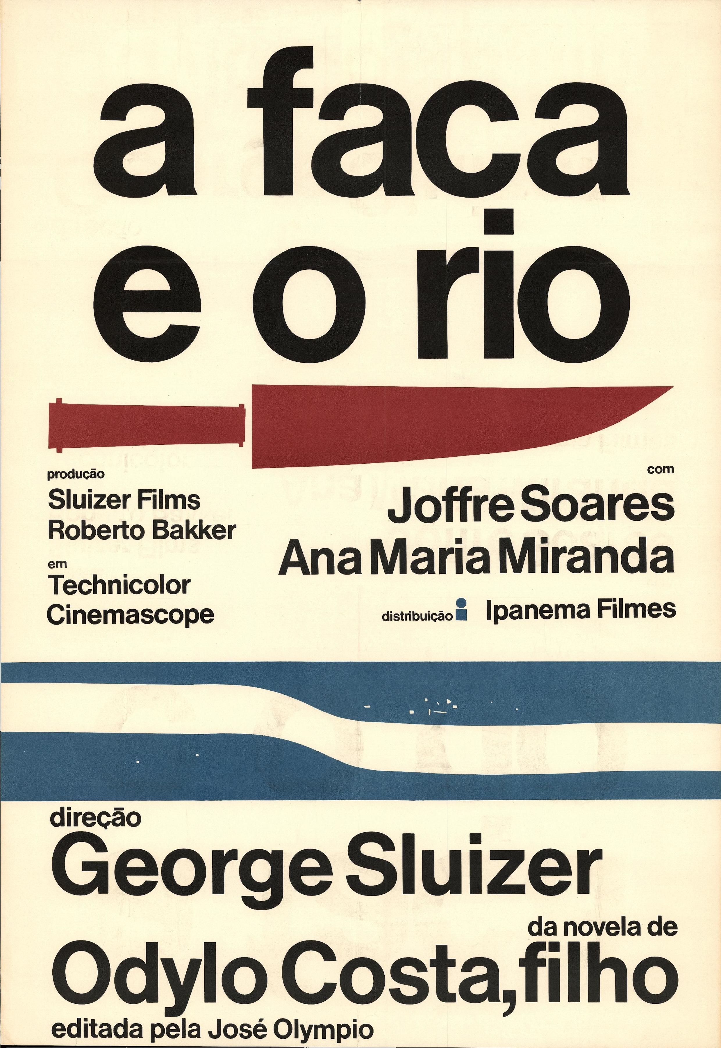 """Cartaz de """"João e a Faca"""", de George Sluizer."""